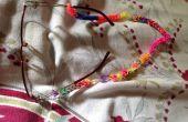 Métier à tisser bande lunettes cordon pour grand-maman