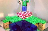 Laisser refroidir le gâteau de Minecraft qui est facile à faire et s'il vous plaît les plus irréductibles joueurs de Minecraft.