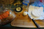 Au four apéritif rapide et facile, Brie et ail rôti