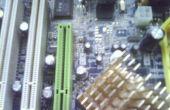 Remplacer le condensateur dans la carte de l'ordinateur