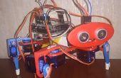 3D imprimé Robot quadrupède Arduino