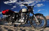 Côté-porte-bagage de moto