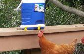Abreuvoir de poulet à l'aide de raccords électriques et refroidisseur