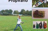 PropVario, un variomètre bricolage/altimètre avec sortie vocale pour planeurs RC
