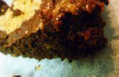 """Salé au Caramel """"brownie"""" - (facultatif : gluten free, produits laitiers gratuit)"""