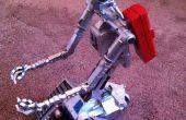 Nova projet J5 - Johnny cinq aluminium Robot V