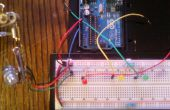 Valeurs de potentiomètre indiquées par LED