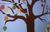 Peindre une murale de l'arbre
