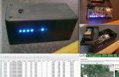 Boîte personnelle de Black - Arduino Mega, ultime bouclier GPS + LSM303