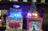 Comment faire un Mini portail sapin de Noël cadeau