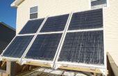 Système thermique solaire hydronique pour hiver espace chauffage