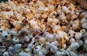 Maïs qui apparaît – bricolage et façon santé