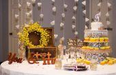 Centres de table de mariage