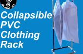 Faire un rack de vêtements portable et pliable en PVC pour 10 dollars en moins d'une heure