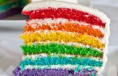 Comment faire le meilleur gâteau arc-en-ciel !
