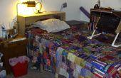 Faire un cadre de lit avec beaucoup de rangement