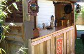 """An """"Indiana Jones"""" themed Tiki Bar"""
