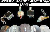 4 façons de faire multi-surface LED Throwies - Taggies