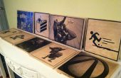 Imprimé des panneaux en bois pour votre maison (ou comment décorer votre maison comme un nerd)