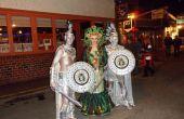 Méduse et Statues Halloween costumes faits à la main 2012