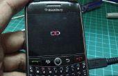BlackBerry 8900 curve traversé batterie icône fix