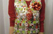 Recyclé tissés Gift Wrap Vest