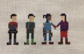 La légende de Korra Cross Stitch : Avatar de l'équipe