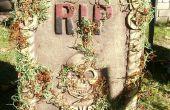 Faire vieilles pierres tombales revenir d'entre les morts