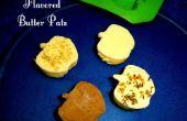 4 Pats de beurre parfumé