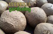 Guérillero jardinage - bombardement style