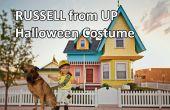 Russell de vers le haut de costume d'Halloween pour les tout-petits