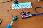 Graphique barre de niveau de température à l'aide de LM35 avec Arduino