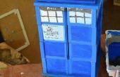 Boîte de TARDIS, faite de petites boîtes !