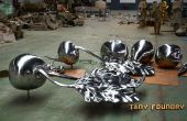 Comment effectuer un Cast incroyable Sculpture en aluminium