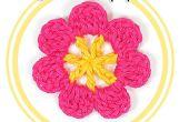 Comment crocheter une fleur à sept pétales