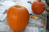 David Bowie Pumpkin Carving