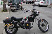 Conversion de moto électrique bricolage facile