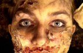 Maquillage de Zombie avec des Articles de ménage