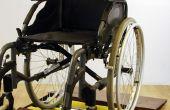Roue de fauteuil roulant sécheuse