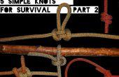 Compétences rapides #2: 5 nœuds simples pour la survie partie 2