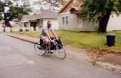 Côté Crash Pad porte-bicyclette (pour grimpeurs)