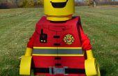 Costume de pompier LEGO figurine
