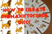 Comment faire pour créer des disques de phenakistoscope