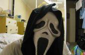 Faites votre propre masque de scream halloween gratuit !