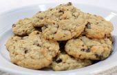 Cookies aux raisins faciles moelleux avoine