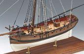 Comment faire un bateau en bois Kit modèle ?