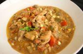 Soupe aux légumes poulet