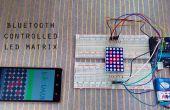 Afficheur dot matrix Bluetooth avec Arduino