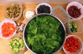 Faire venir personnalisé Bar à salade