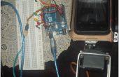 Arduino basé Moto Racer jouer main robotisée